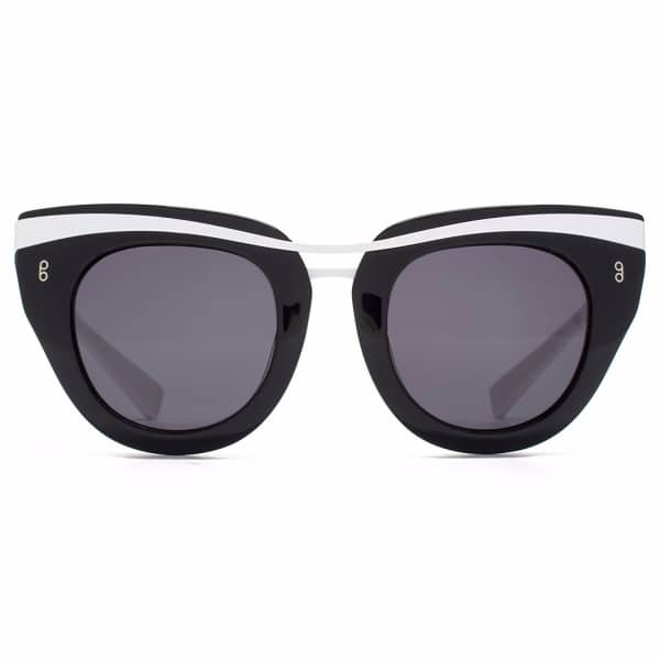HOOK LDN Clique Black Cat-Eye Sunglasses