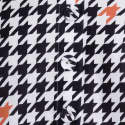 Linen Black & White Print Top image