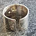 Gap Ring Mens Silver image