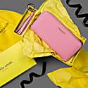 Boxed Blush Tassel Keyring & Purse Set image
