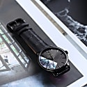 Limited Edition Luxury Analog Watches By Aiverc Ontario All Black With 40Mm Watch Band For Women image