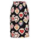 Emma Skirt Flaming Hearts image