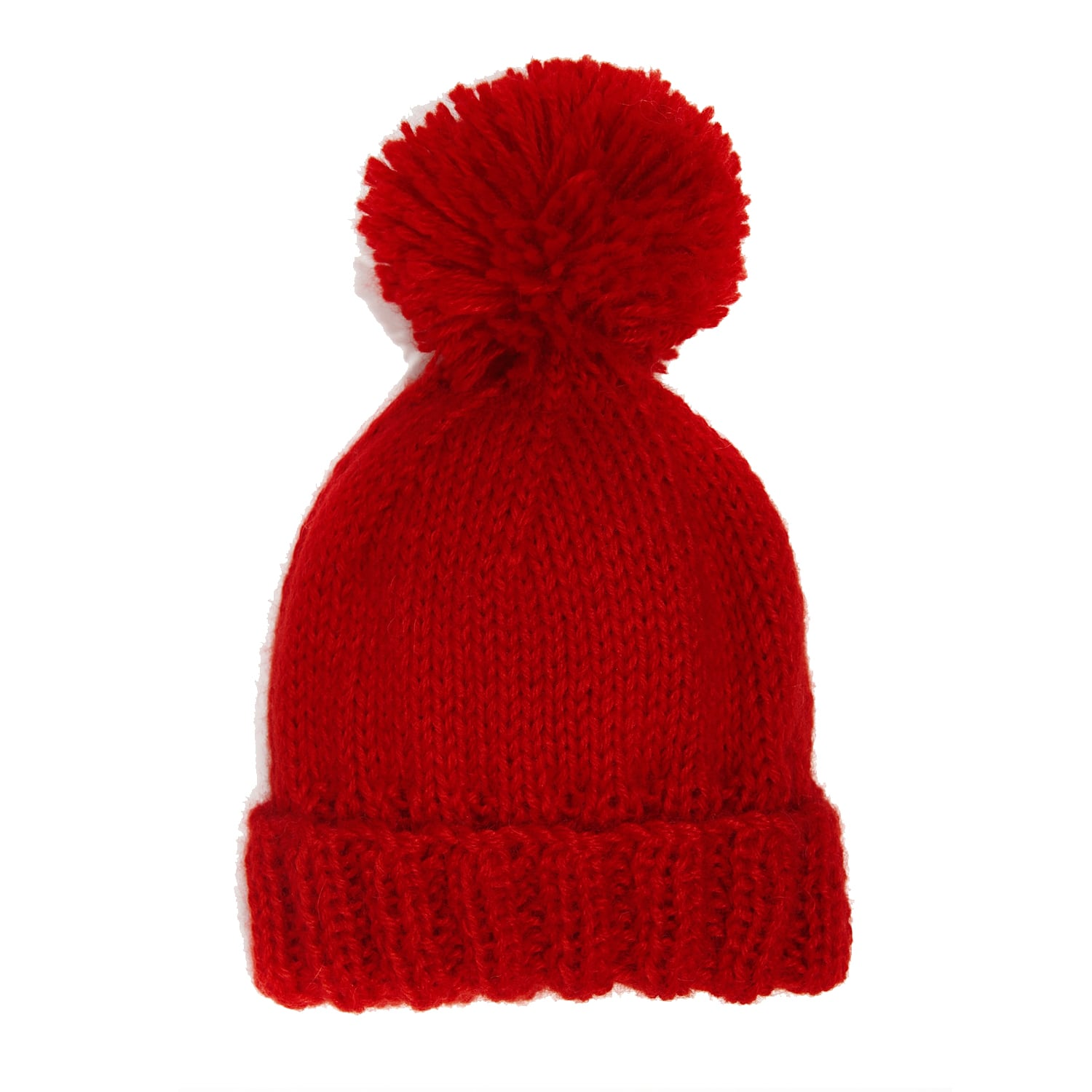 Bobble Hat Red  7ede8b5f6bef