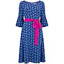 Bearob Dress Blue Hiawatha Print image