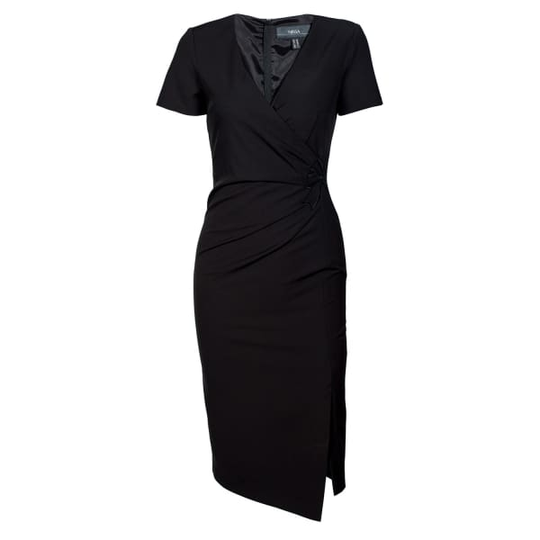NISSA Day Dress With Sleeves Details