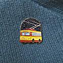 Enamel Pin Trolleybus image
