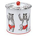 Bear Biscuit Barrel Tin image