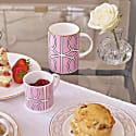 Loop Pink/White Mug image