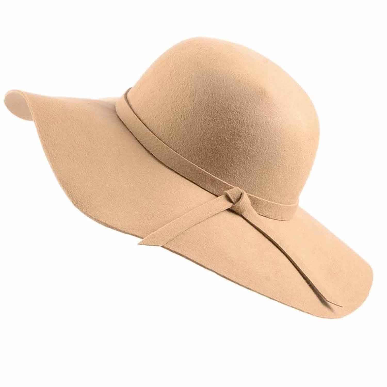 3e71d28dd2cdb Ladies Cream Wool Fedora Hat