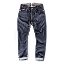The New Frontier 14Oz Selvedge Anti-Bac Raw Denim Jeans image