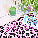 Pink Leopard Yoga Mat image