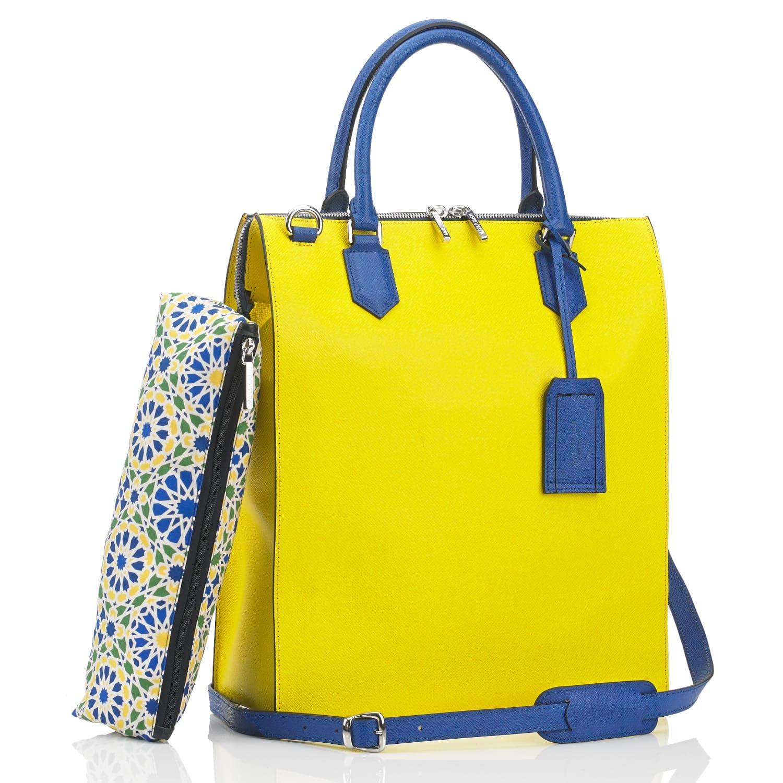Granada All Leather Shopper Bag