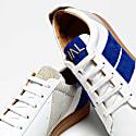Mismatched Sneakers Electrik Blue image