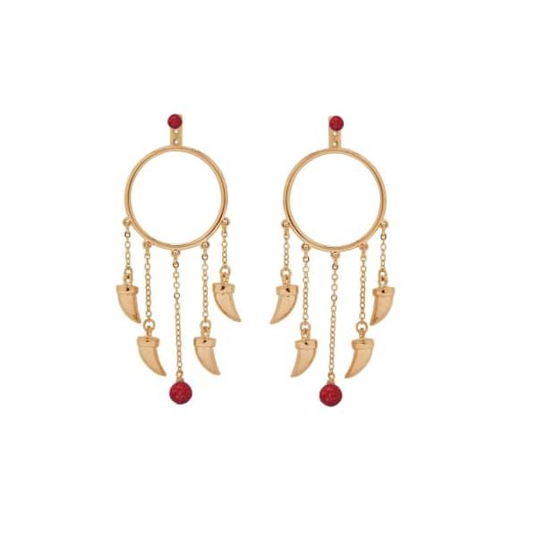 ESHVI Eshvi Gold Earrings