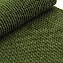 Military Green Solid Wool & Cashmere Scarf image