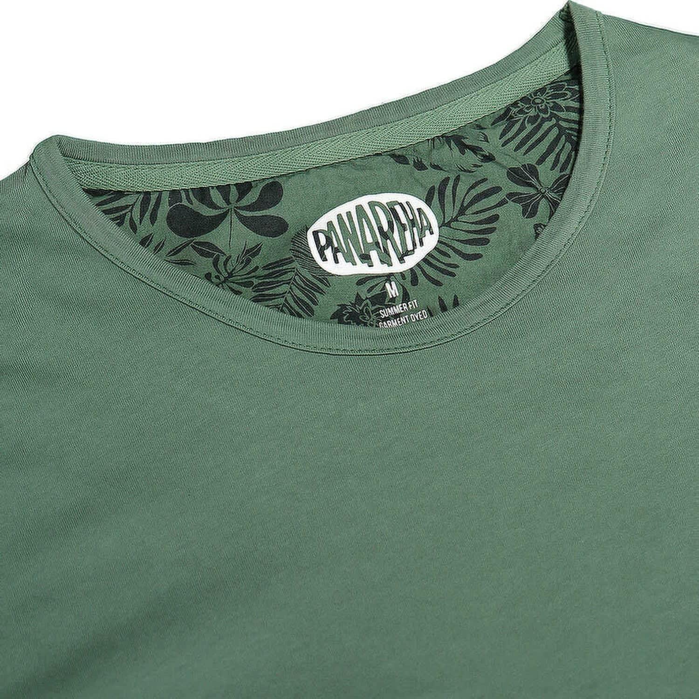 24f379646 Margarita Pocket T-Shirt In Green | Panareha | Wolf & Badger
