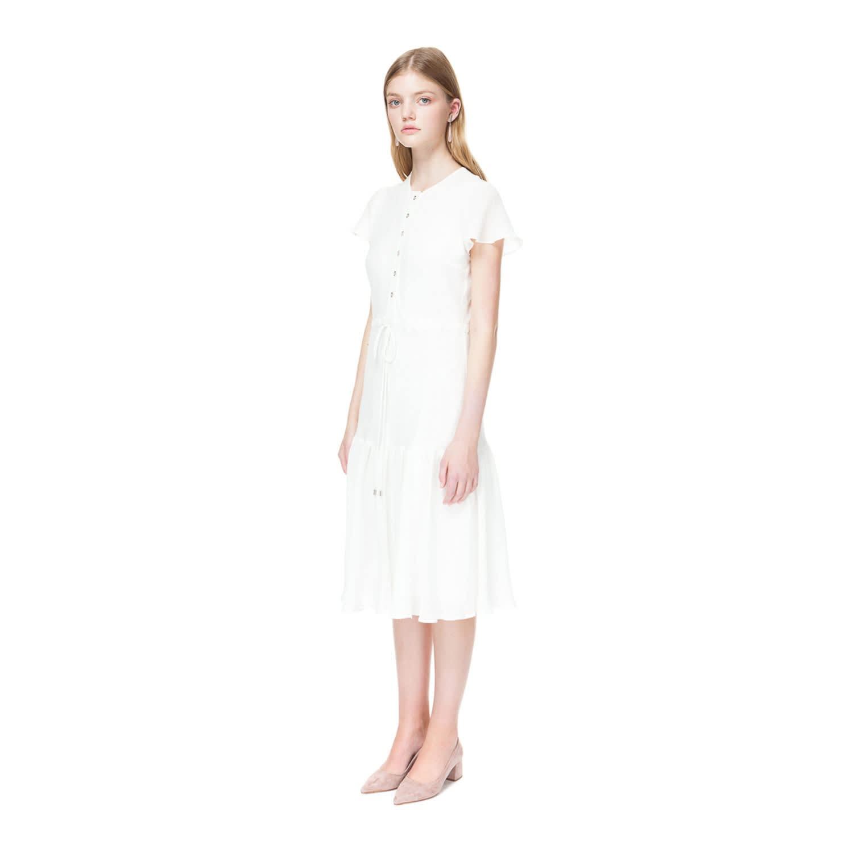 6d9ea660765e Aretha White Midi Dress | DIANA ARNO | Wolf & Badger