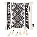 Azizi White Cotton Cushion image