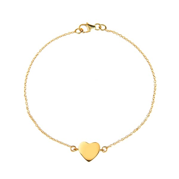 Cosmic Heart Bracelet Gold