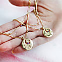 February Birthstone Gold Bracelet image
