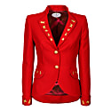 Jacket Frock Style Red image