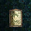 Elemental Panther Gold Print image
