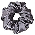 Luxe Pure Silk Hair Scrunchie - Charcoal image