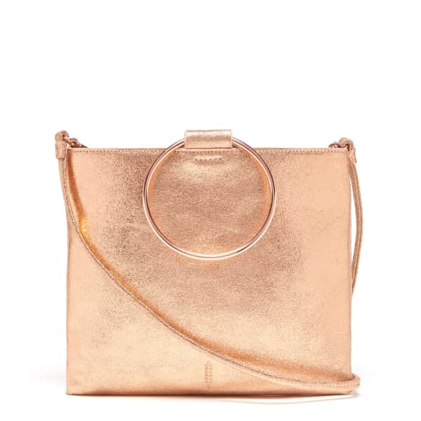 THACKER NEW YORK Le Pouch in Rose Gold