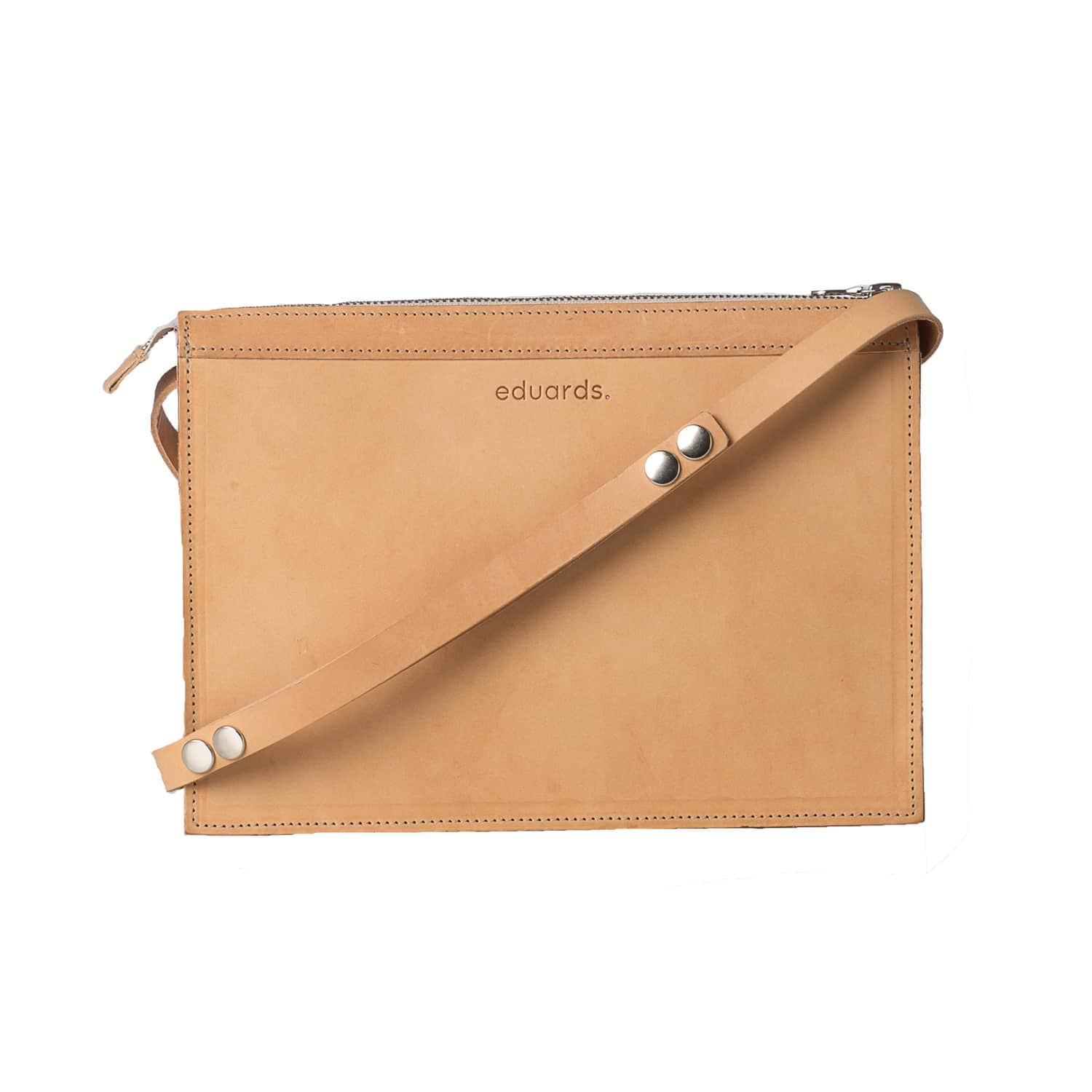 82698d2a3b84 Näver Small Shoulder Bag in Nature Leather image
