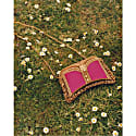 Zeenat Clutch Silk Power Pink image