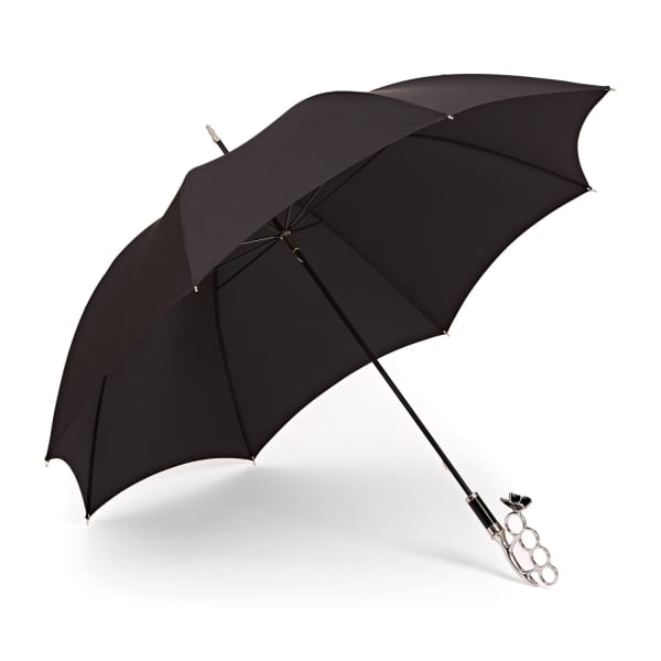 GIZELLE RENEE The Nirvana Long Black Umbrella