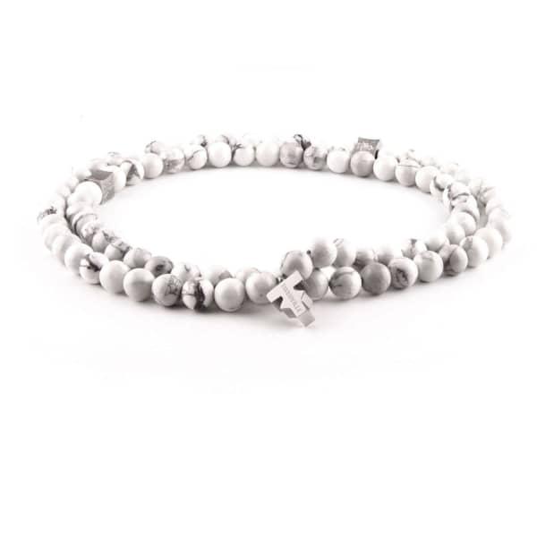 TISSUVILLE Flyer Necklace Men Silver