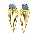 Bophorus Strait Earrings Gray image