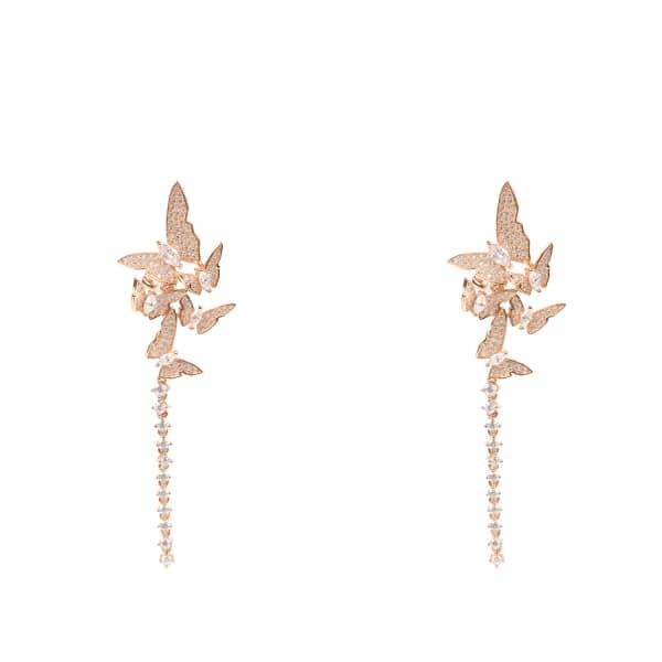 Flutter By Butterfly Earring Rosegold