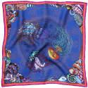 Dancing Jellyfish Blue Pocket Square image