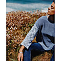 Cornflower Cotton Jumper image