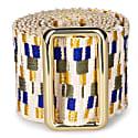 Sunda Jacquard Belt Gold & Yellow image