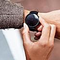 Mykonos Vegan Leather Watch All Black & Black image
