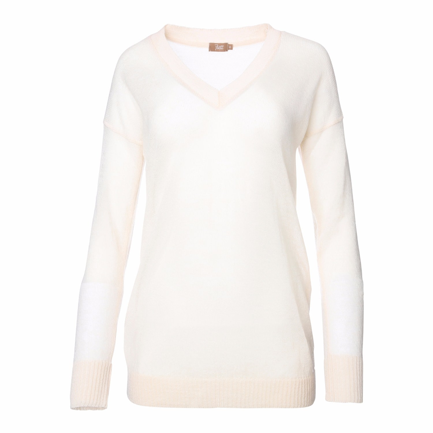 Frett Slow-Made Knitwear - Airy Mohair Sweater Off-White