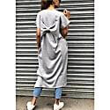 Toni Light Grey Bow Dress image
