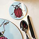 Baby Beetle Rose Coaster image