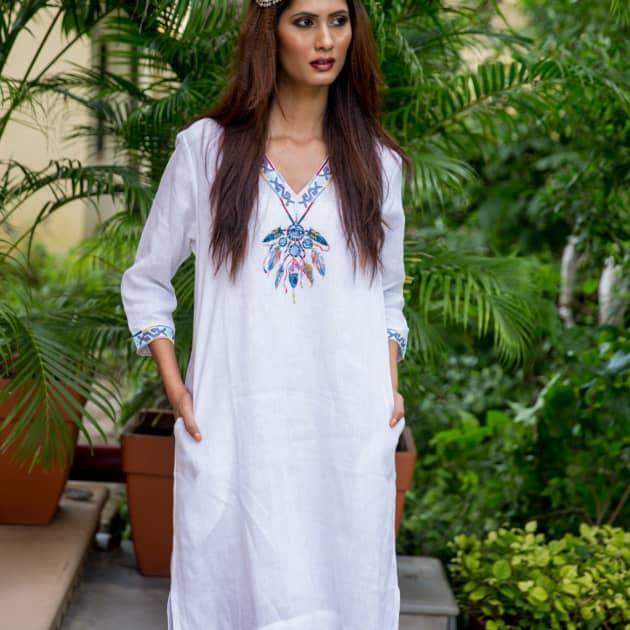 Women S Designer Linen Clothing