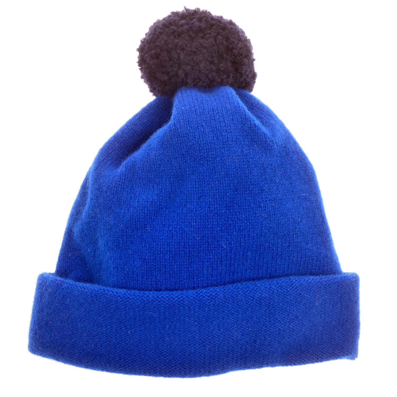 dde4849af6d Argyll Bobble Hat Royal Blue