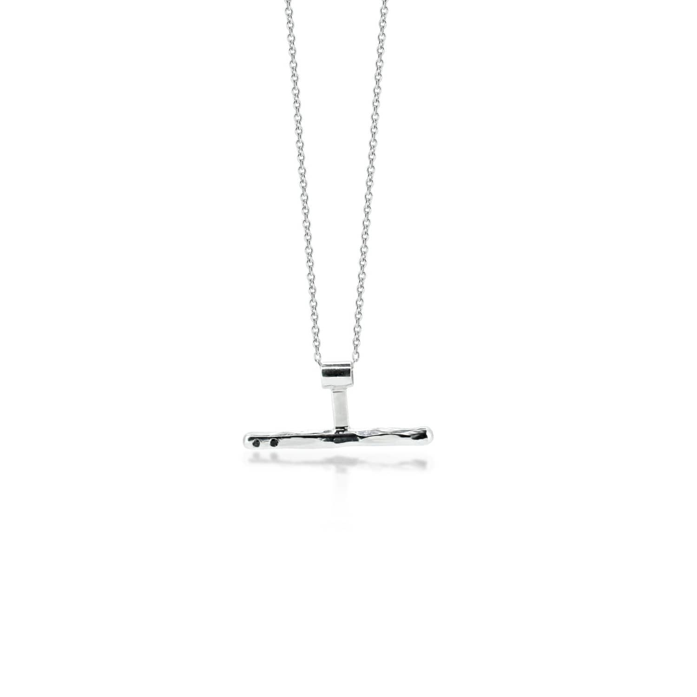46e7248dc Black Diamond Pendant Silver | Maya Magal London | Wolf & Badger