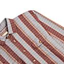 Over Shirt - Stripe Blue & Port image