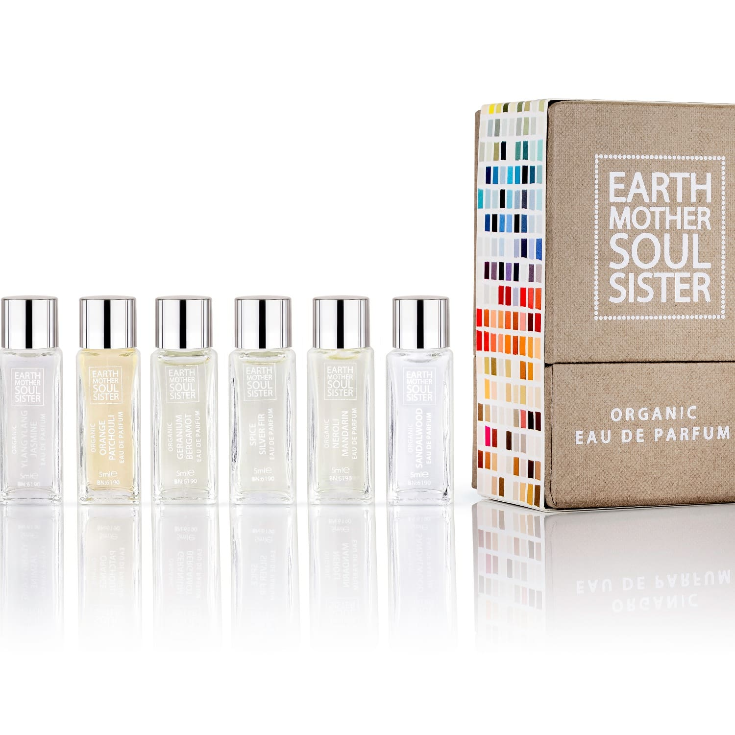 Organic Perfume Collection Box 2 by EARTH MOTHER SOUL SISTER