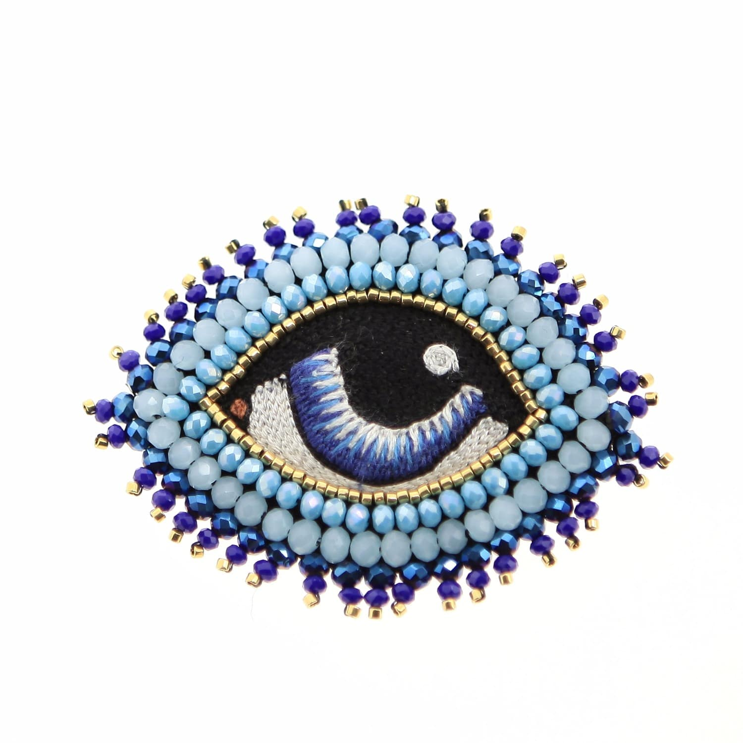 en celeste mogador brooch blue broche leste bleu c eye m product