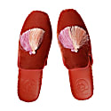 Women Classic Handmade Slipper - Red image