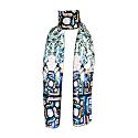 Statues & Mosaics Skinny Scarf image