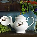 Trapeze Bone China Teapot image